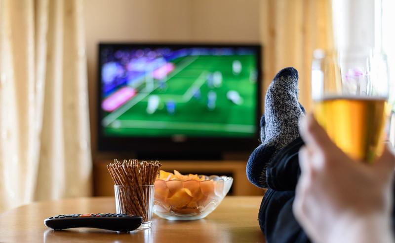 テレビ観戦