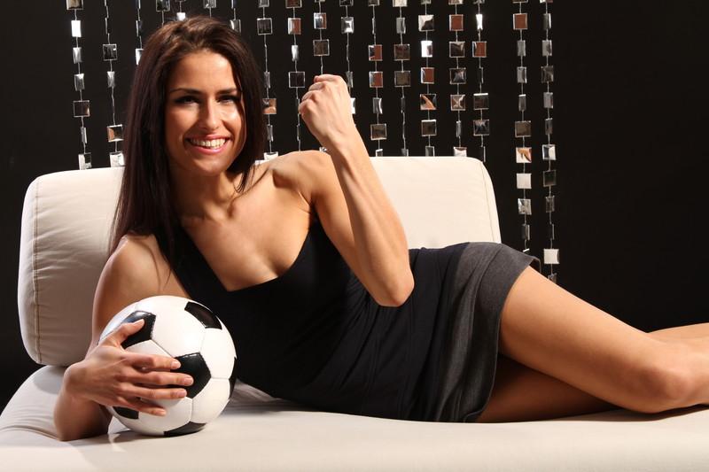 サッカー 美女